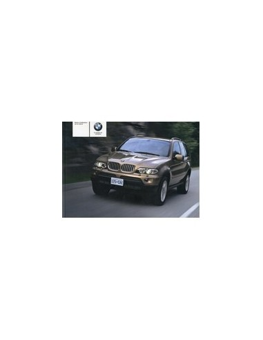 2004 BMW X5 INSTRUCTIEBOEKJE FRANS