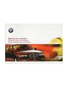 1998 BMW 3 SERIES OWNERS MANUAL HANDBOOK PORTUGUESE