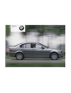 2002 BMW 3 SERIES OWNERS MANUAL HANDBOOK GERMAN