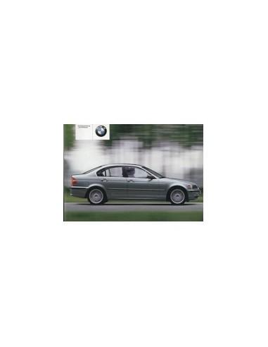 2002 BMW 3 SERIE INSTRUCTIEBOEKJE DUITS