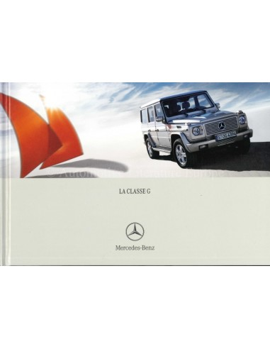 2005 MERCEDES BENZ G CLASS HARDCOVER BROCHURE FRENCH