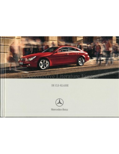2004 MERCEDES BENZ CLS BROCHURE HARDCOVER DUTCH