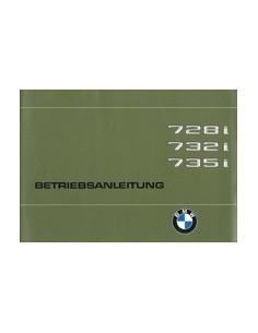 1979 BMW 7 SERIE INSTRUCTIEBOEKJE DUITS