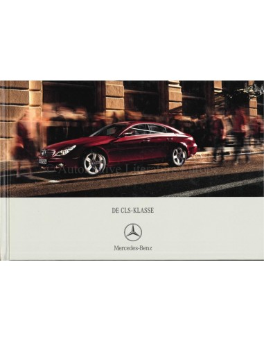 2006 MERCEDES BENZ CLS BROCHURE HARDCOVER DUTCH