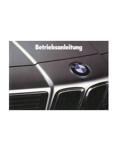 1988 BMW 6 SERIE INSTRUCTIEBOEKJE DUITS