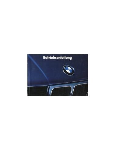 1988 BMW 5 SERIE INSTRUCTIEBOEKJE DUITS