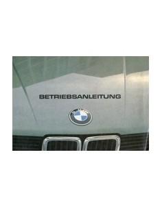1983 BMW 5 SERIES OWNERS MANUAL HANDBOOK GERMAN