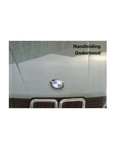 1985 BMW 5 SERIE INSTRUCTIEBOEKJE NEDERLANDS