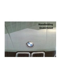 1985 BMW 5 SERIES OWNERS MANUAL HANDBOOK DUTCH