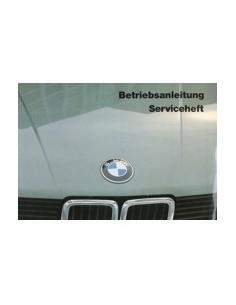 1985 BMW 5 SERIES OWNERS MANUAL HANDBOOK GERMAN