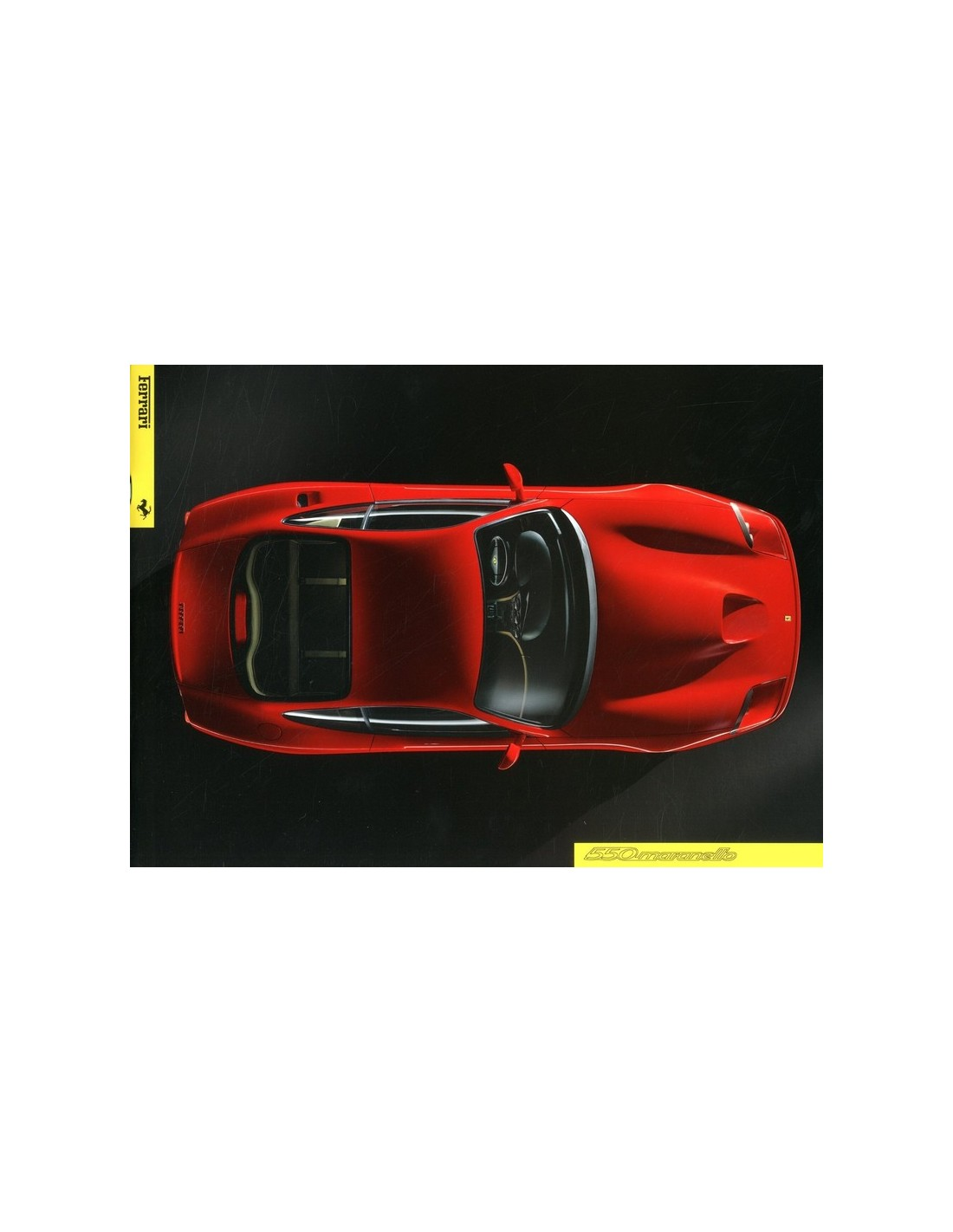 1996 Ferrari 550 Maranello Brochure 1101 96