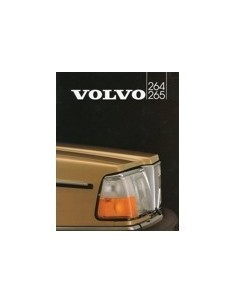 1982 VOLVO 264 265 BROCHURE DUTCH