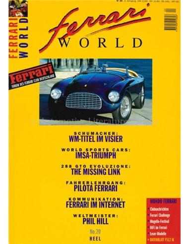 1996 FERRARI WORLD MAGAZINE 20 GERMAN