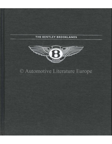 BENTLEY - THE BENTLEY BROOKLANDS - BOOK