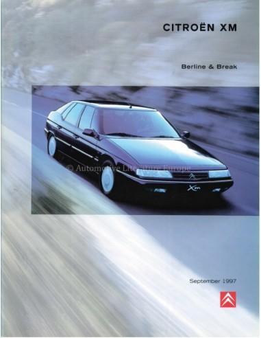 1997 CITROEN XM BROCHURE DUTCH