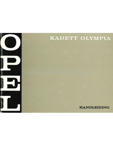 1970 OPEL KADETT OWNERS MANUAL DUTCH