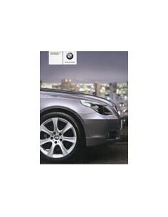 2006 BMW 5 SERIES OWNERS MANUAL HANDBOOK GERMAN