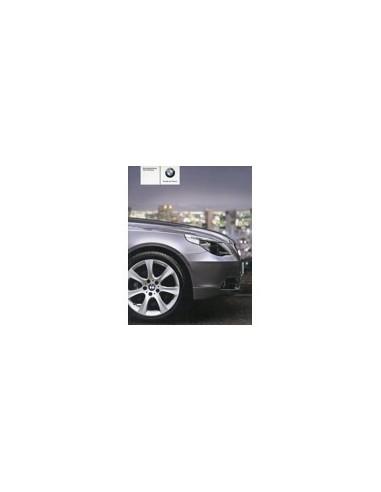 2006 BMW 5 SERIE INSTRUCTIEBOEKJE DUITS