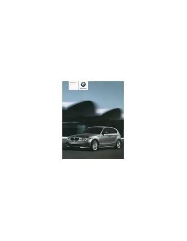 2004 BMW 1 SERIE INSTRUCTIEBOEKJE DUITS