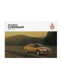 1999 MITSUBISHI CARISMA INSTRUCTIEBOEKJE DUITS