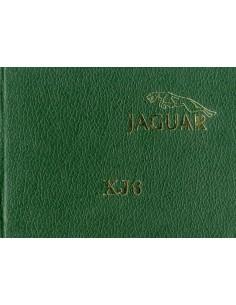1979 JAGUAR XJ6 HARDCOVER INSTRUCTIEBOEKJE HARDCOVER ENGELS