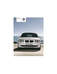 2009 BMW 1 SERIES OWNERS MANUAL HANDBOOK GERMAN