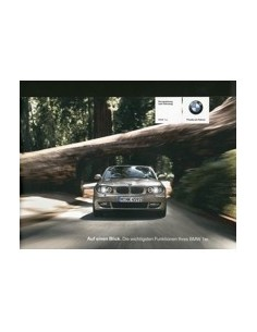 2009 BMW 1 SERIES SHORT OWNERS MANUAL HANDBOOK GERMAN