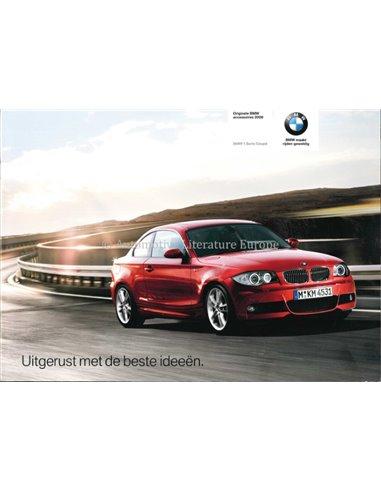 2007 BMW 1 SERIES COUPÉ BROCHURE DUTCH