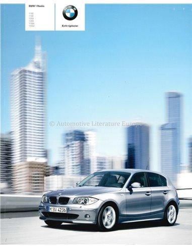2005 BMW 1 SERIES BROCHURE DUTCH