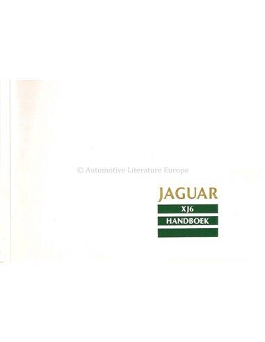 2007 JAGUAR XJ OWNER'S MANUAL DUTCH