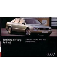1994 AUDI A8 INSTRUCTIEBOEKJE DUITS