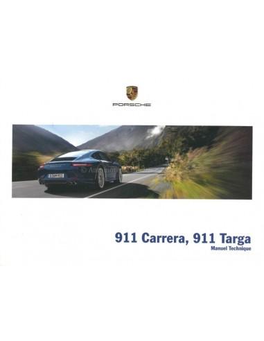 2015 PORSCHE 911 CARRERA / TARGA OWNERS MANUAL FRENCH