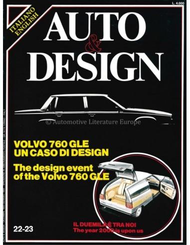 1983/84 AUTO & DESIGN MAGAZINE ITALIAN & ENGLISH 22-23