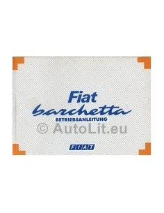 1995 FIAT BARCHETTA OWNERS MANUAL HANDBOOK GERMAN
