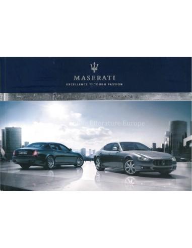 2011 MASERATI QUATTROPORTE V AUTOMATIC OWNERS MANUAL ENGLISH