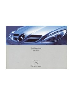 2004 MERCEDES BENZ SLK CLASS OWNERS MANUAL HANDBOOK GERMAN