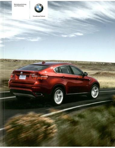 2009 BMW X5 & X6 INSTRUCTIEBOEKJE DUITS
