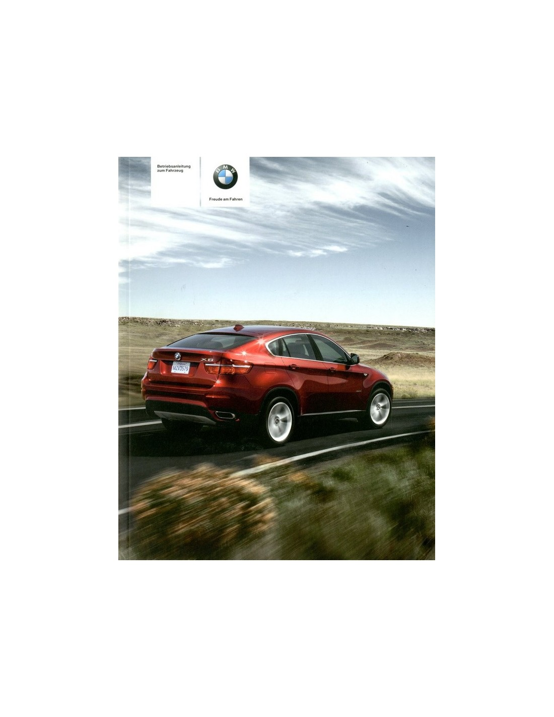 Bmw X6 Price In Germany: 2009 BMW X5 & X6 OWNERS MANUAL HANDBOOK GERMAN