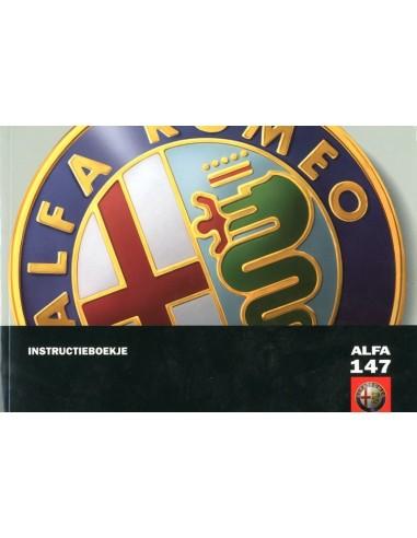 2006 ALFA ROMEO 147 INSTRUCTIEBOEKJE NEDERLANDS