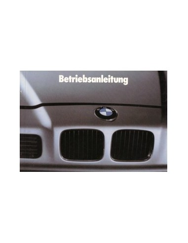 1991 BMW 8 SERIE INSTRUCTIEBOEKJE DUITS