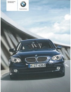 2008 BMW 5 SERIES OWNER'S MANUAL GERMAN