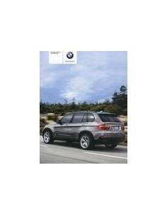 2007 BMW X5 OWNERS MANUAL HANDBOOK GERMAN