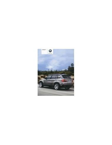 2007 BMW X5 INSTRUCTIEBOEKJE DUITS