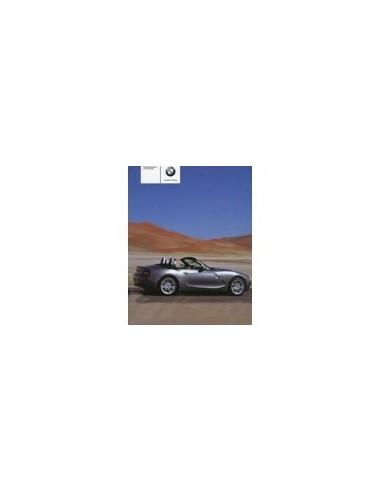 2005 BMW Z4 INSTRUCTIEBOEKJE DUITS