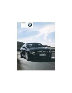 2003 BMW 6 SERIE INSTRUCTIEBOEKJE DUITS