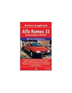 1990 - 1994 ALFA ROMEO 33 BENZINE VRAAGBAAK NEDERLANDS