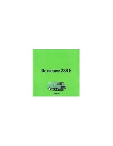 1978 FIAT 238 E BROCHURE NEDERLANDS