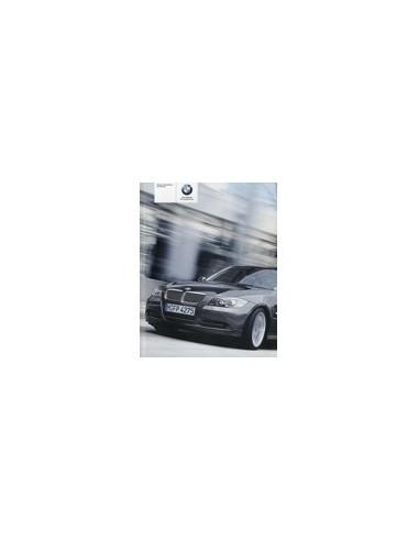 2006 BMW 3 SERIE INSTRUCTIEBOEKJE ENGELS