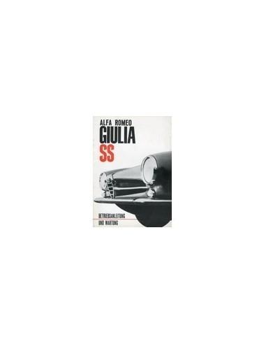1963 ALFA ROMEO GIULIA SS INSTRUCTIEBOEKJE DUITS