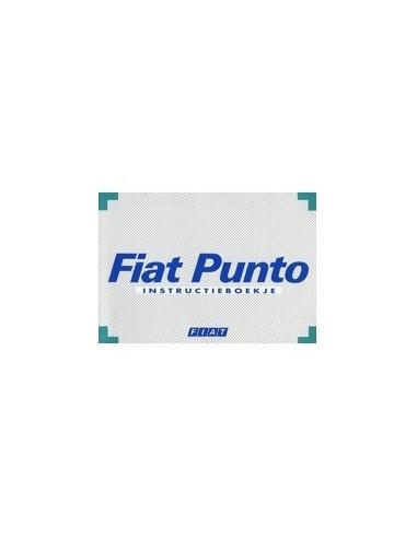 1994 FIAT PUNTO INSTRUCTIEBOEKJE NEDERLANDS